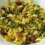 Dadpe Pohe Recipe (Seasoned rice flakes with coconut)