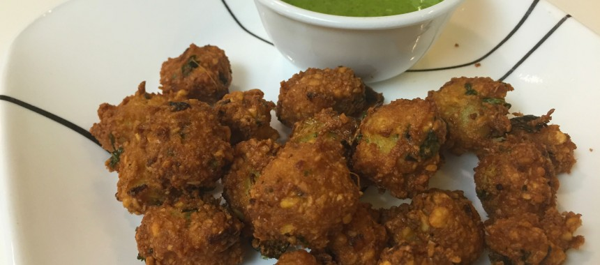 Dal Vada (Split Chick Pea Fritters)