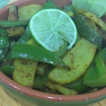 Stir Fry Capsicum With Potato Recipe